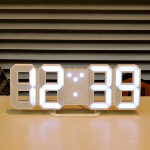 무아스 LED 벽시계