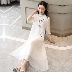 5c9a99e3236 l2oj 상서로운뜻 단아한 차이나 질좋은 여성 여자 룩 의류 복장 옷 가먼트 이모션