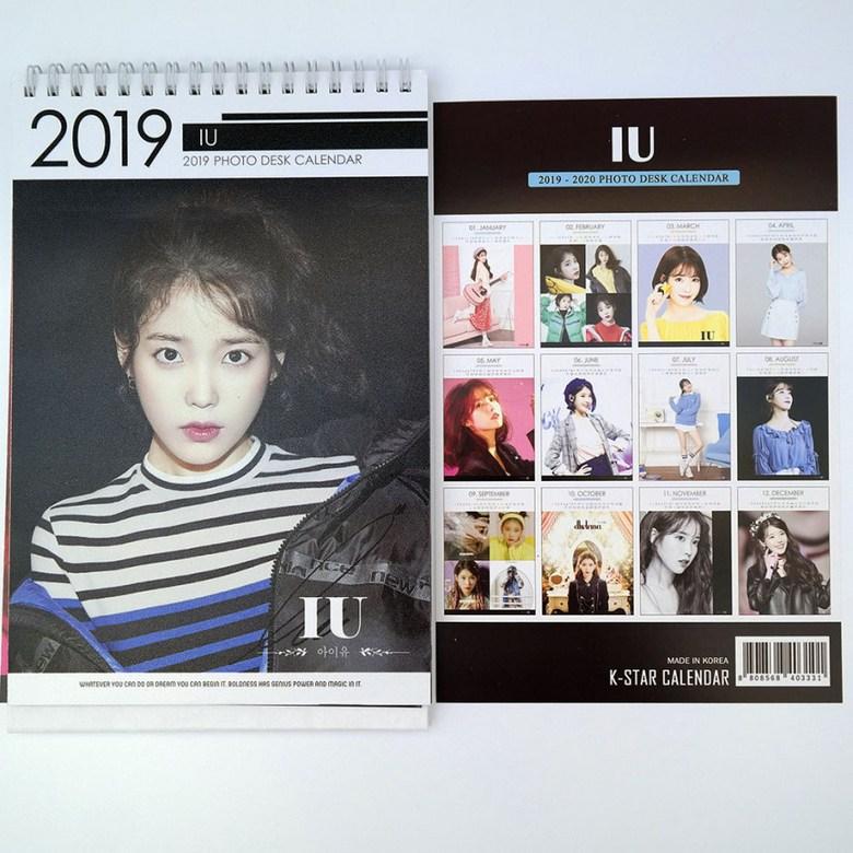 Iu Fall 2020 Calendar IU Desk Calendar (2019 ~ 2020)   Korea Initiative